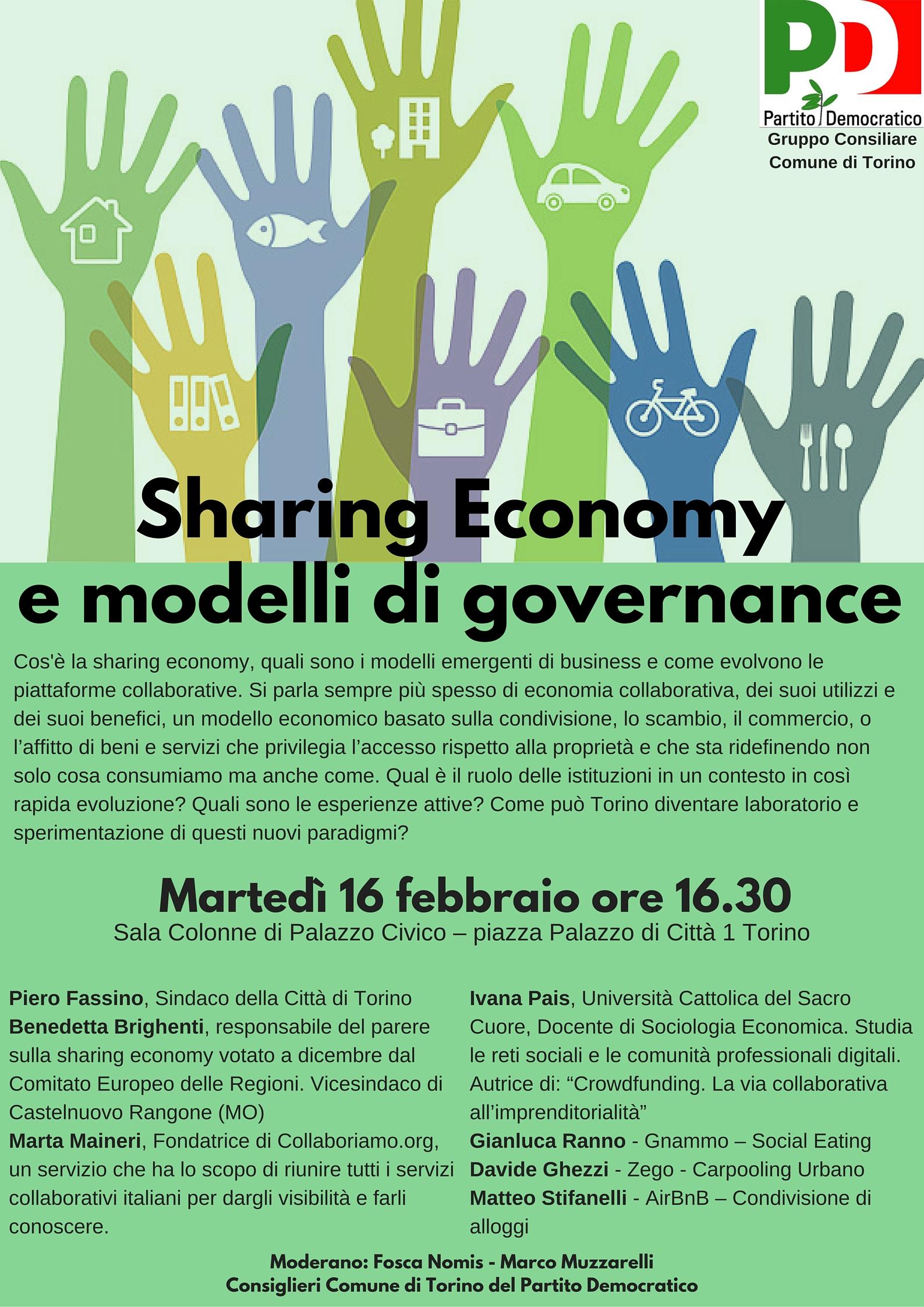 volantino sharing economy